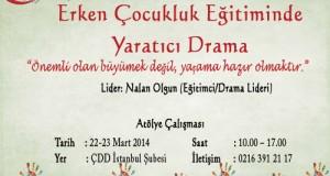 Erken Çocukluk Eğitiminde Yaratıcı Drama!!!