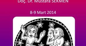 """""""Sözelden Eyleme: Anlatı Tiyatrosu""""  Mustafa Sekmen"""