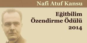 """""""Nafi Atuf Kansu  Eğitbilim Araştırmaları Özendirme Ödülü""""  Doç. Dr. Ömer Adıgüzel'in!"""