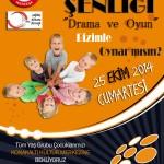 """MUĞLA'DA ÇOCUK ŞENLİĞİ """"DRAMA VE OYUN"""""""