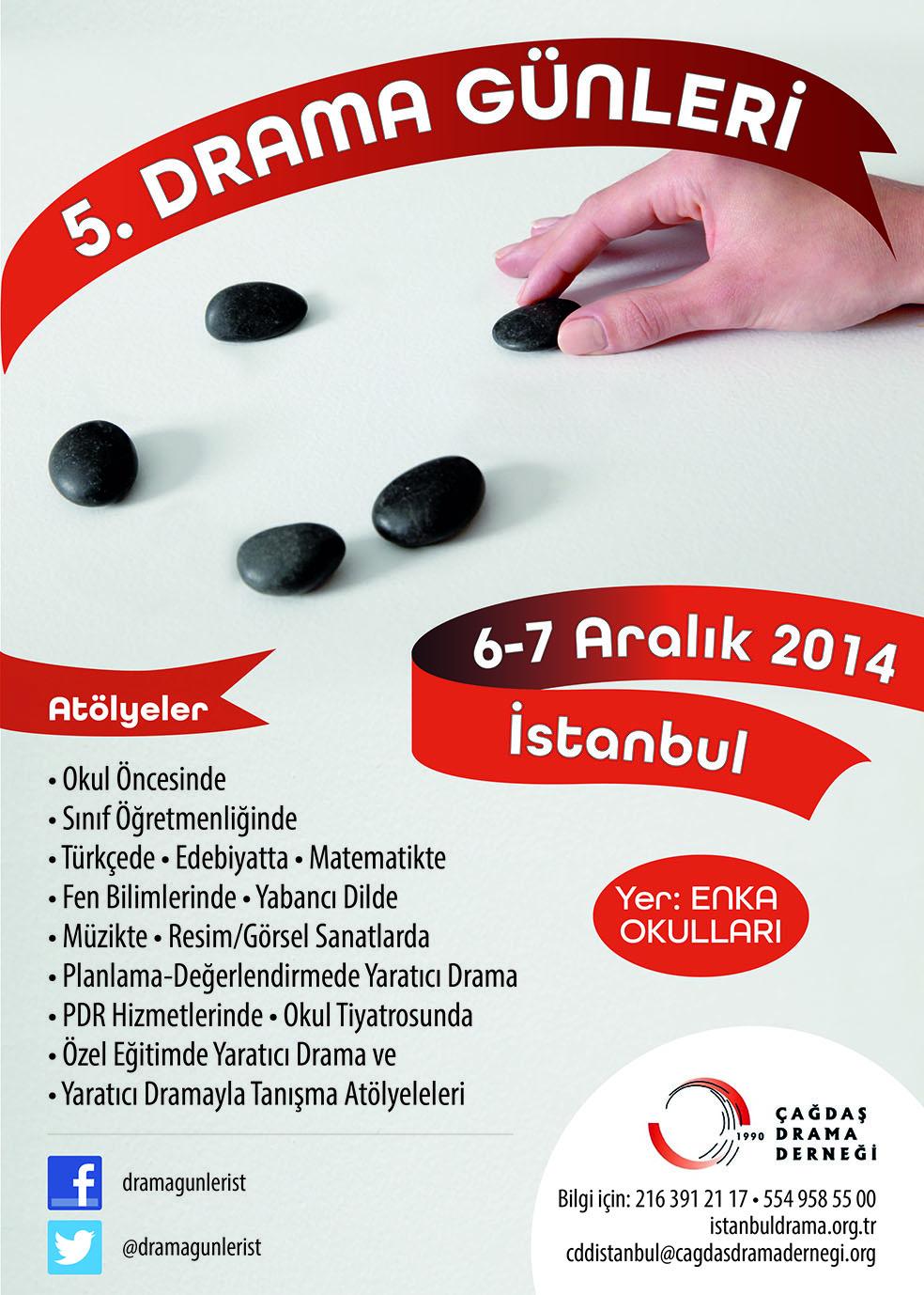 """""""Beş Taş Sadece Bir Oyun mu? """" 6-7 Aralık İstanbul"""
