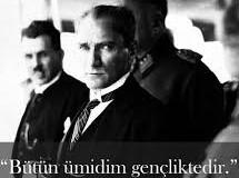 19 Mayıs Atatürk'ü Anma ve Gençlik ve Spor Bayramı Kutlu Olsun.
