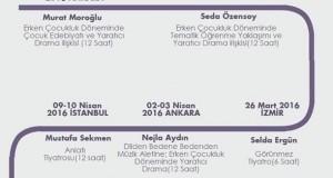KONULU ATÖLYELER TAKVİMİ BELLİ OLDU!
