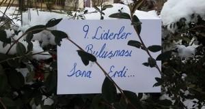 9. LİDERLER BULUŞMASI SONA ERDİ