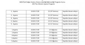 Yaz Dönemi Yoğunlaştırılmış Kurs Kayıtlarımız Devam Ediyor! / Ankara