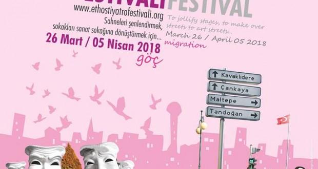 12. Ethos Ankara Uluslararası Tiyatro Festivali başlıyor! 26 Mart – 5 Nisan 2018
